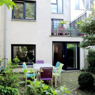 Conversion of a property into a very low-energy house in Uccle