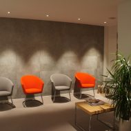 Furnishing and designing an audiologist's office