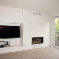 Transformation and extension of a house in Brussels (Uccle)