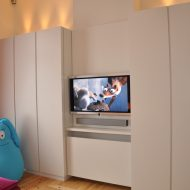 Customized room, dressing- and TV-room