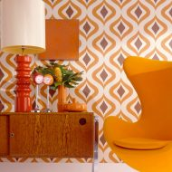 Colorful Wallpapers can also enlighten your home…