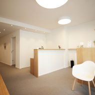 Transformation of an audiology office in Brussels (Woluwe-Saint-Pierre)