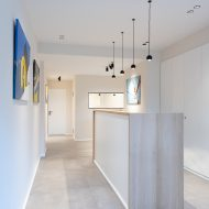 Layout and interior design of a dental office in Brussels (Auderghem)